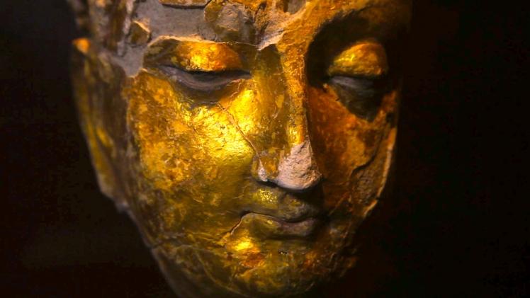 Mes Aynak Buddha Statue in Samangan province